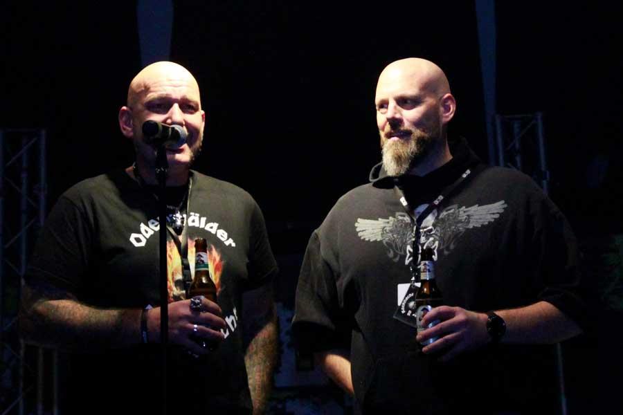 Timo & Hotzy bei der 7. Odenwälder Rocknacht