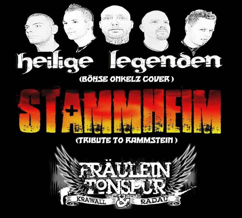 6. Odenwälder Rocknacht - heilige legenden - STAMMHEIM - FRÄULEIN TONSPUR