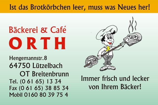 Bäckerei & Cafe Orth