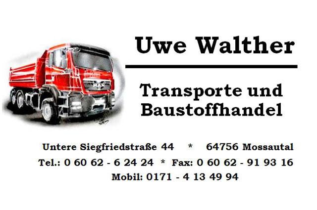 Uwe Walther Transporte und Baustoffhandel