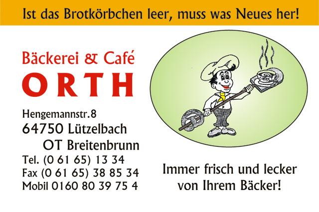 Bäckerei & Café Orth - Lützelbach